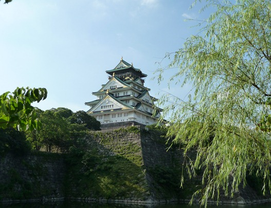 japão- osaka-castelo - Gloria Ishizaka