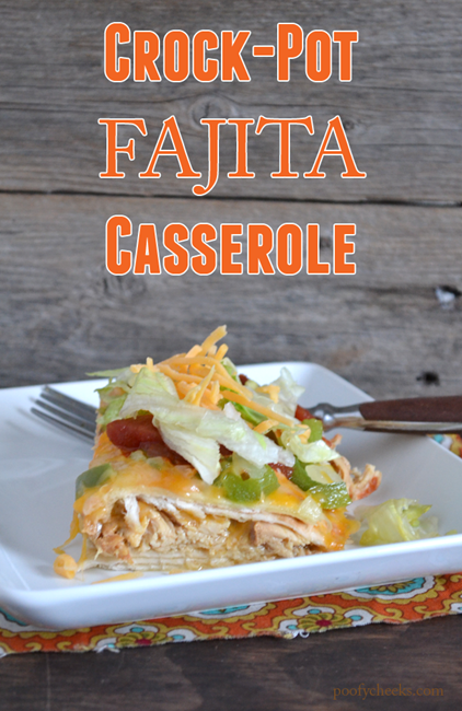 Crock-Pot Fajita Casserole #shop