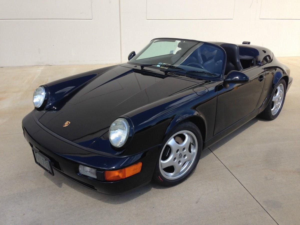 rare 1994 porsche 911 speedster will cost you six figures
