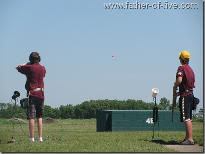 #3 of 5 Trap shooting