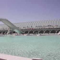 35.- Calatrava. Ciudad de las artes y las ciencias. Valencia