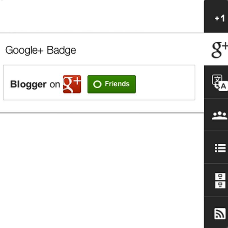 Esponendo il badge Google+ sul tuo blog permetti ai tuoi lettori di seguirti più facilmente su Google+.