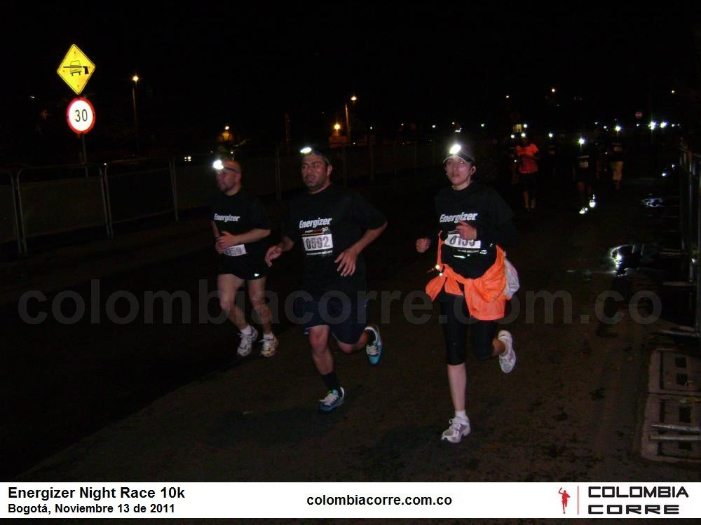 Elite en la Energizer Night Race 10k