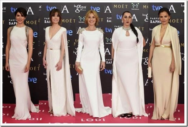 Premios Goya 2015 alfombra roja (2)