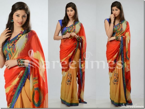Tanvi_Printed_Georgette_Saree
