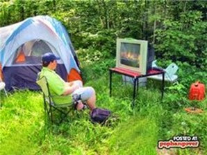 lazy camping, beginner camping mistake, epic fail camping