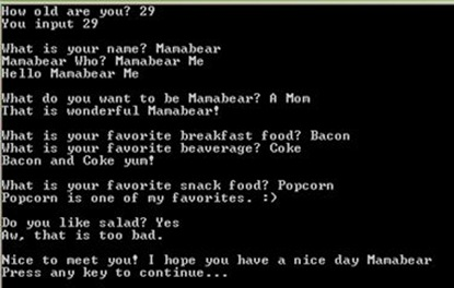 BooBear's Program