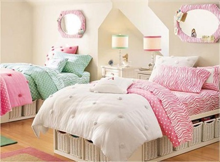 Kids bed room interior decorations 6