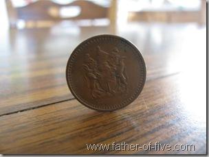 Rhodesian 1c coin
