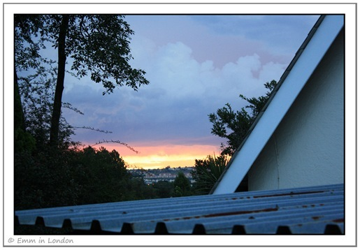 Sunset 24 December