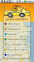 Screenshot of Taxi share - Chicago