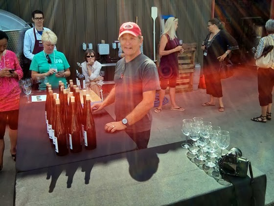 Township 7 Winemaker Bradley Cooper presents the blending challenge