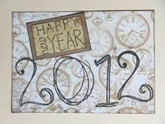 2012 Happy New Year card