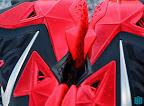 nike lebron 11 gr black red 8 09 New Photos // Nike LeBron XI Miami Heat (616175 001)