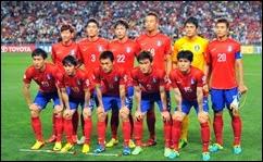 Selecci´ón de Corea del Sur, Mundial Brasil 2014