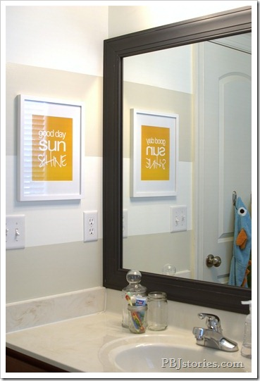 PBJstories.com Bathroom Reveal