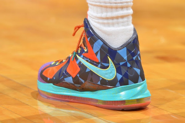 Nike LeBron X MVP 618217300 Will Release in July 500 Pairs