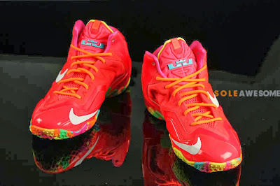 nike lebron 11 gs fruity pebbles 2 06 Another Look at Fruity Pebbles LeBron 11 GS (621712 600)