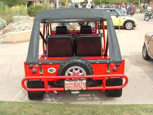 1967 Mini Moke - rear