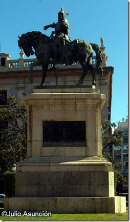 Monumento de Jaime el Conquistador - Valencia