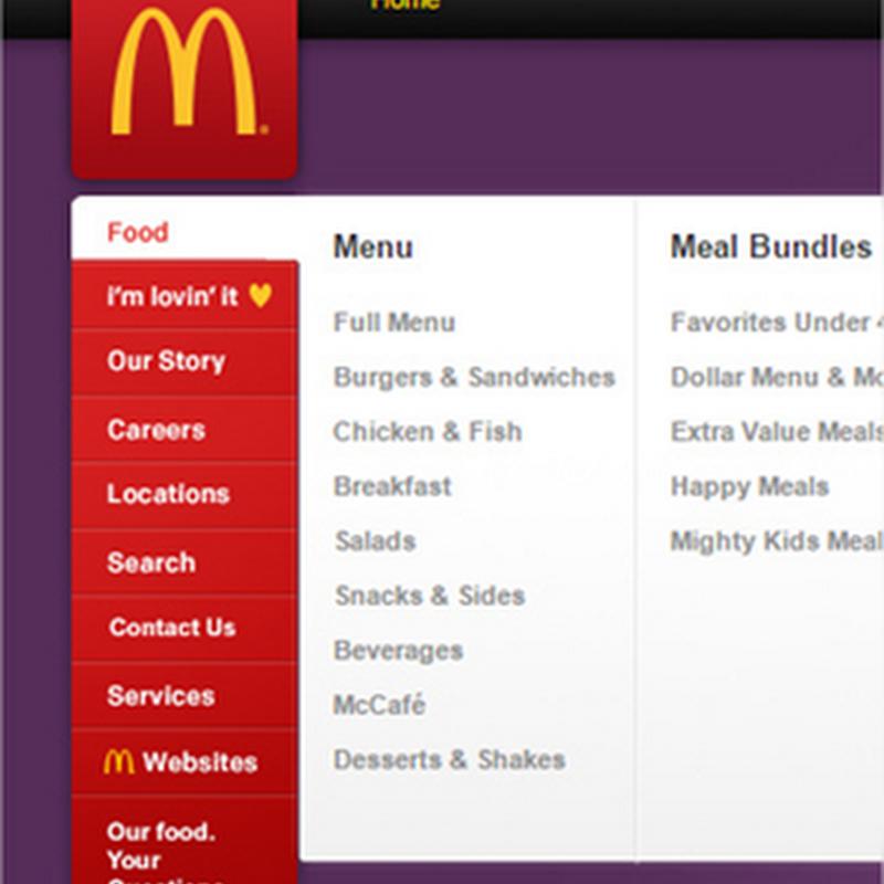 Tips para diseñar menús verticales en un sitio web
