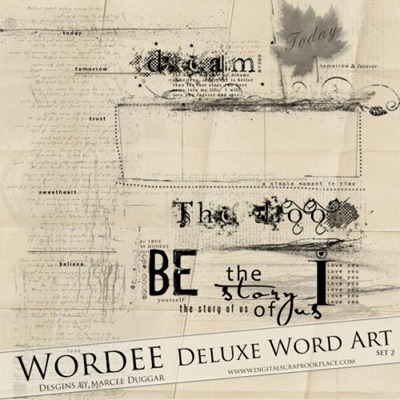 Wordee Deluxe Word Art Set 2