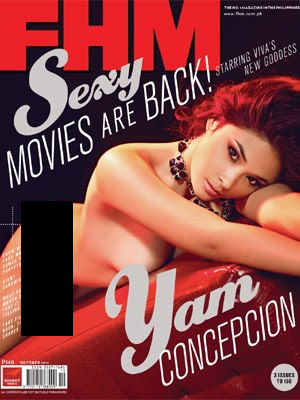 Yam Concepcion covers FHM Ph Oct 2012