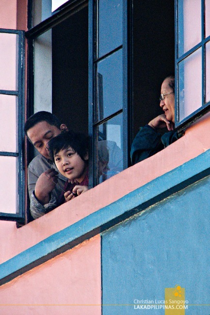 Watching Baguio's Panagbenga Festival from the Window