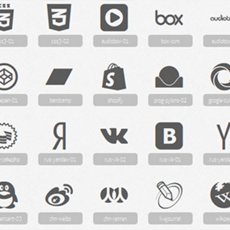 12 paquetes de íconos minimalistas para descargar gratis