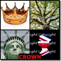 CROWN- 4 Pics 1 Word Answers 3 Letters
