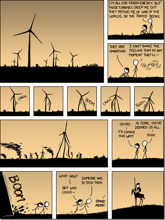 Wind turbine humor