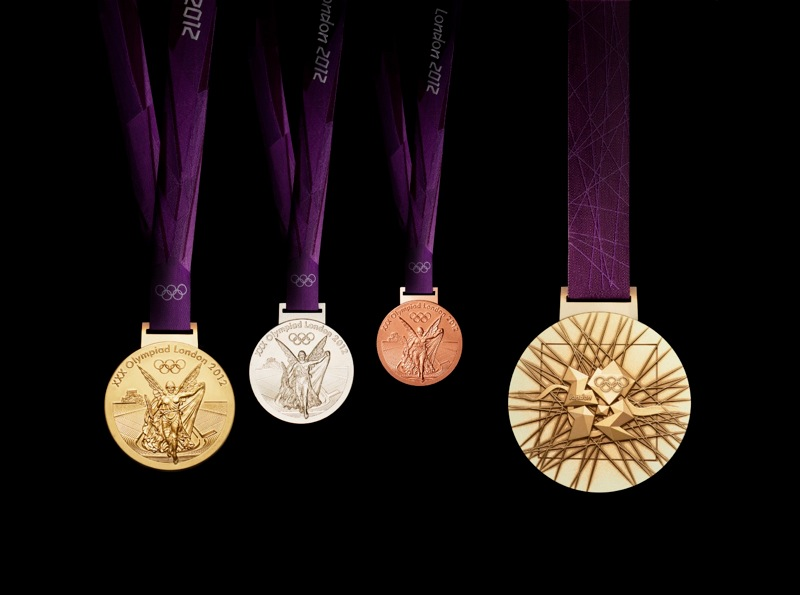 20120229olympic medals london 2012 triple