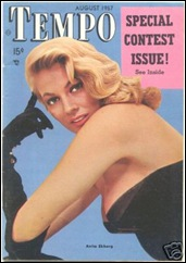 Anita Ekberg #56 - Mag. Cover (version 2)