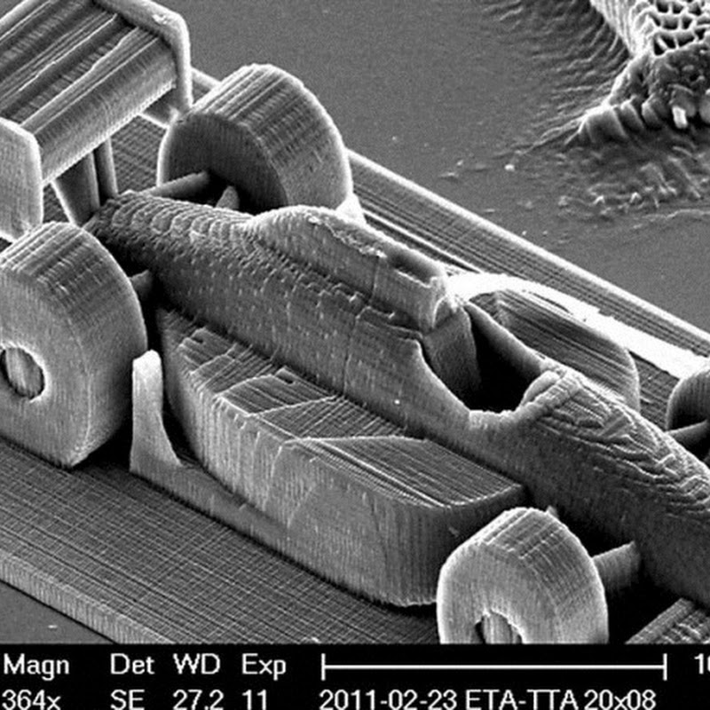 Amazing Nanoscale 3D Printing