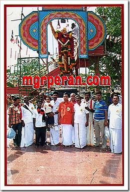 MGR fans in Madurai
