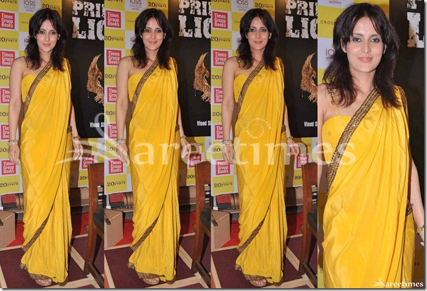 Yellow_Designer_Silk_Saree