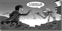 Frodo e Gollum
