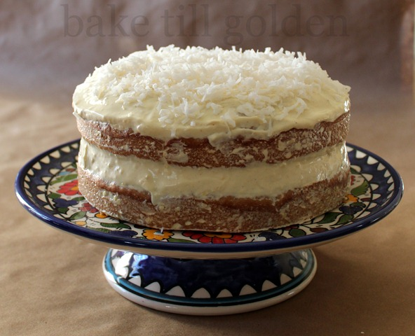 Coconut Banana Ginger Birthday Cake - BTG-007