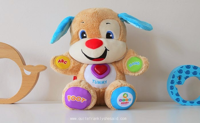 Fisher-Price Laugh Learn Smart Stages Puppy Review