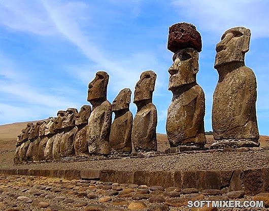 Для создания статуи использовали вулканический туф
