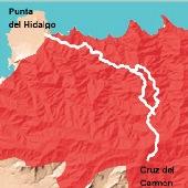 Ruta Cruz del Carmen - Punta del Hidalgo