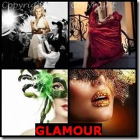 GLAMOUR- 4 Pics 1 Word Answers 3 Letters