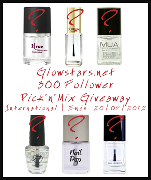 glowstars pick and mix giveaway