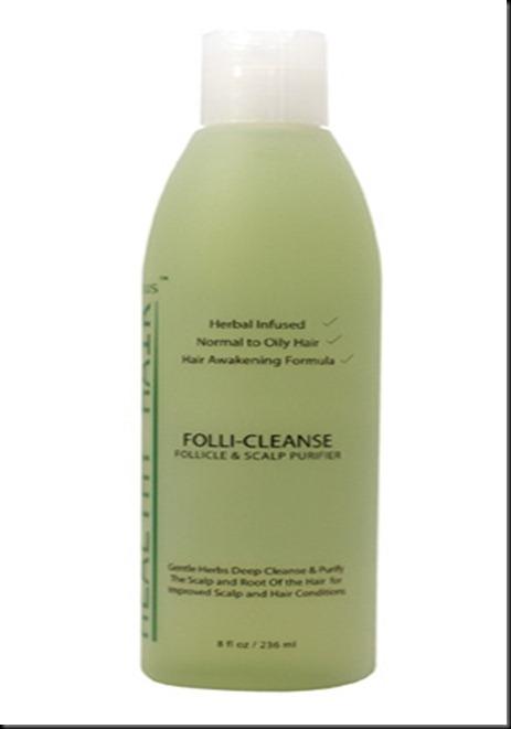 Follicleanse clarifying shampoo