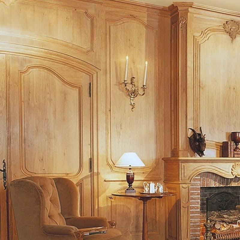 French panelling with Belgian signature 'J.Lefèvre'