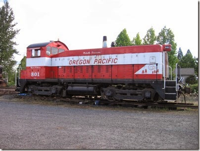 IMG_7709 Oregon Pacific SW8 #801 at Liberal on July 19, 2007