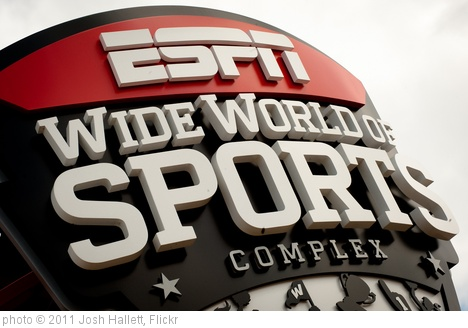 'ESPN Wide World of Sports' photo (c) 2011, Josh Hallett - license: http://creativecommons.org/licenses/by-sa/2.0/