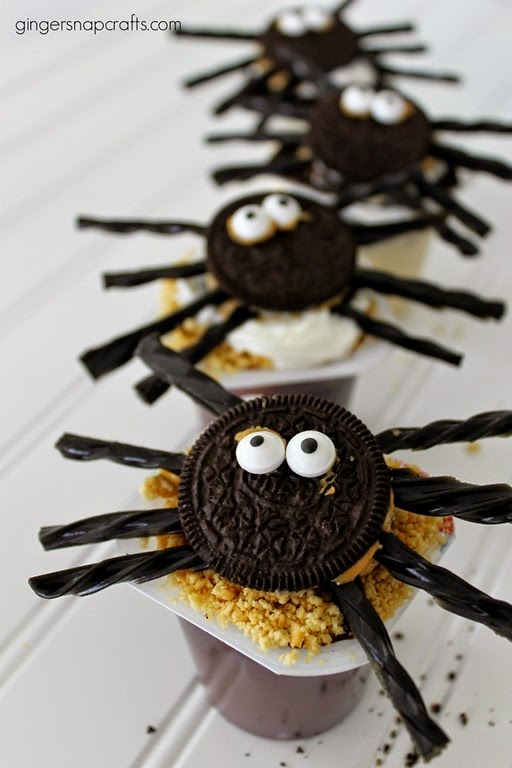 spider treats #Halloween