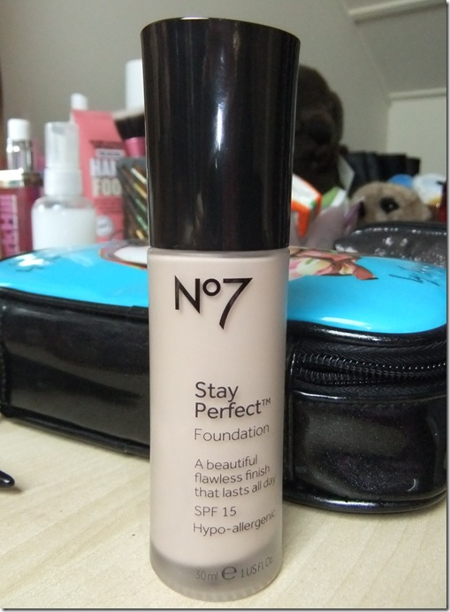 no7 stay perfect foundation calico
