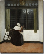 Vrel Woman at a Windoiw